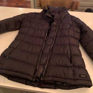 Athleta puffer jacket, Black, M